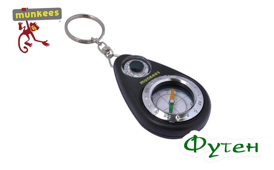 Компас Munkees Keychain Compass