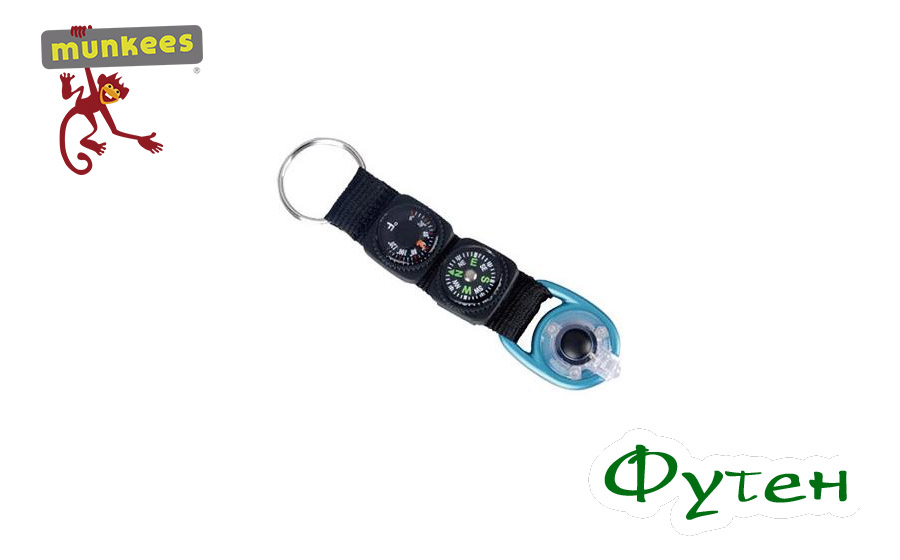 Брелок фонарик Munkees Multipurpose Key Fob