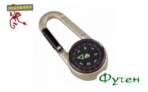 Брелок Munkees Compass with Thermometer