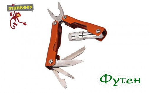 Брелок мультитул Munkees SS Multi Tool Starlight