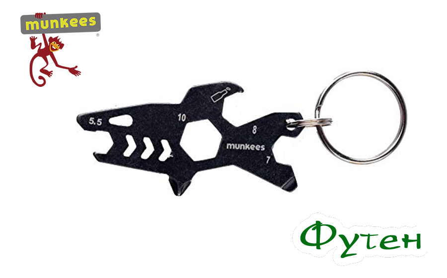 мультитул Munkees Keychain Tool Shark