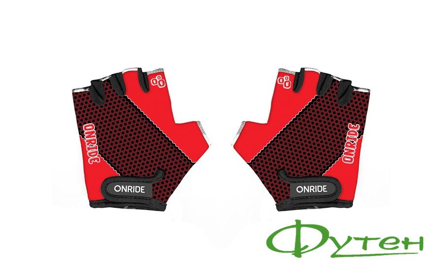 перчатки детские Onride GEM black/red