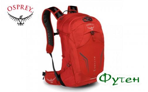 Osprey SYNCRO 20 firebelly red