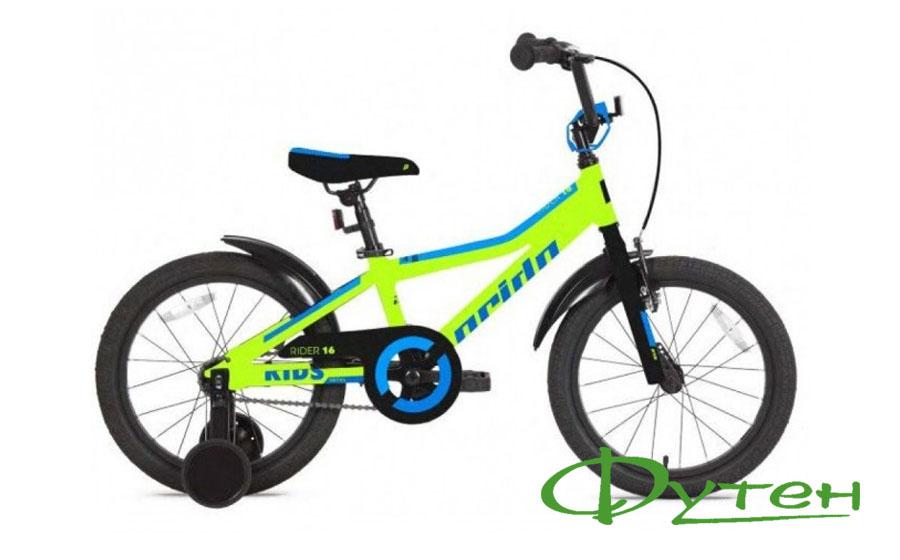 Велосипед Pride RIDER 16 лайм