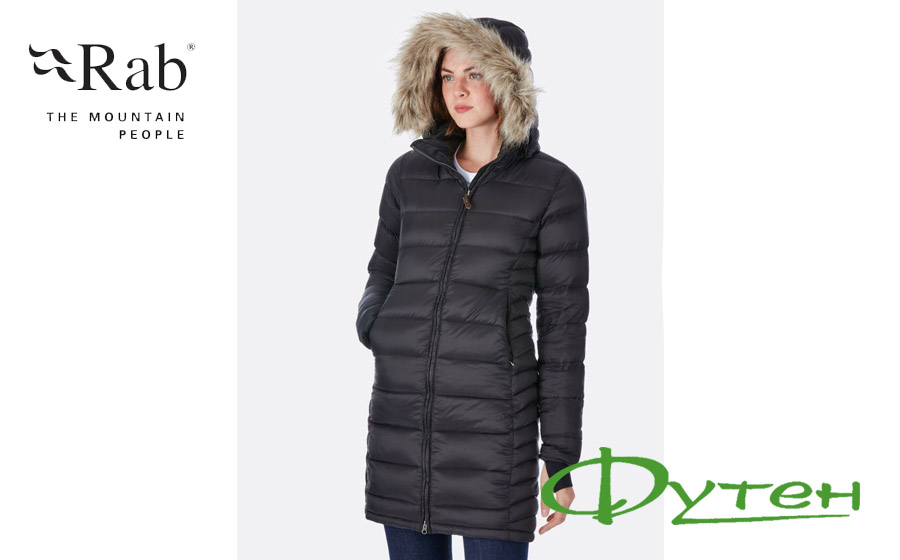 Куртка RAB DEEP COVER PARKA Wmns black