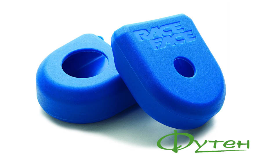 Защита шатунов Race Face CRANKS BOOT 2 PACK blue