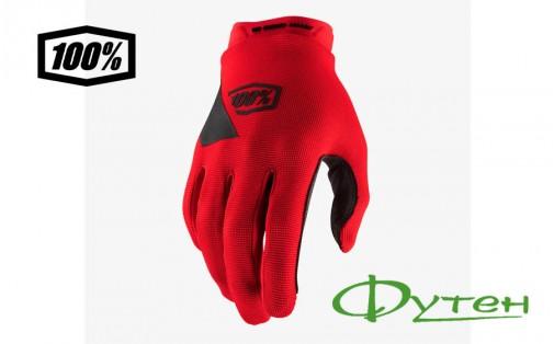 перчатки Ride 100% RIDECAMP GloveRed