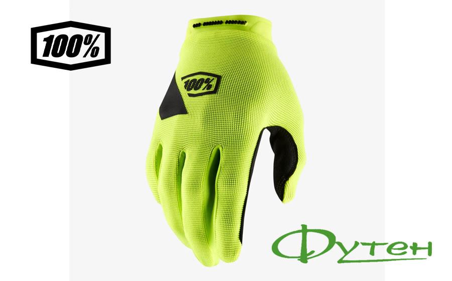 перчатки Ride 100% RIDECAMP Glove Fluo Yellow