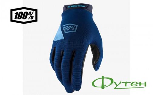Вело перчатки 100% RIDECAMP GloveNavy