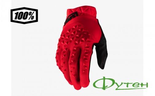 перчатки Ride 100% GEOMATIC Glove Red