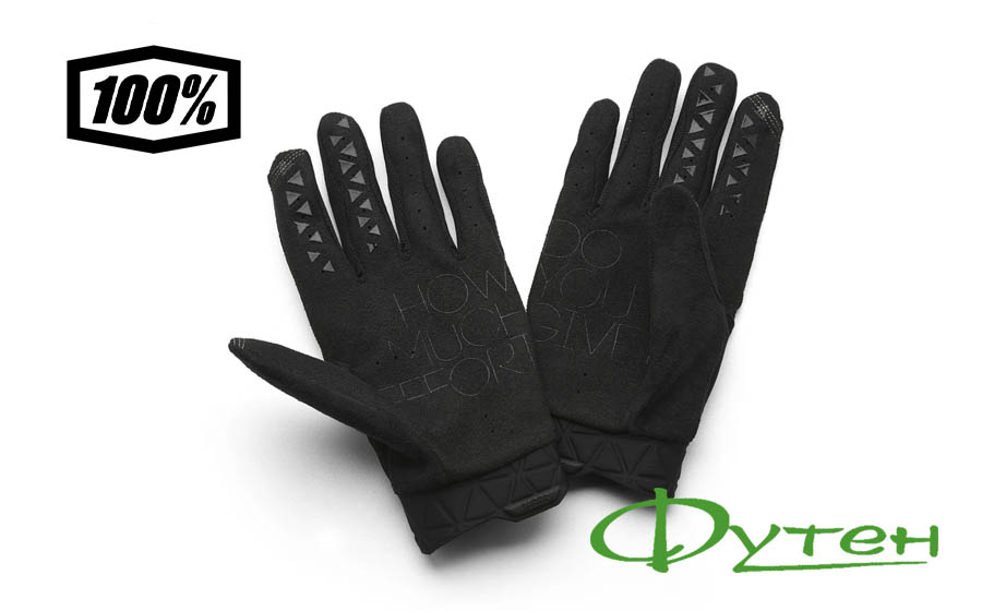 Велоперчатки Ride 100% GEOMATIC Glove Black