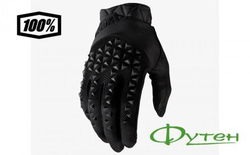 Велоперчатки 100% GEOMATIC Glove Black