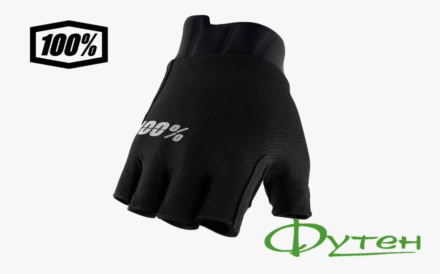 Вело перчатки 100% EXCEEDASFBlack