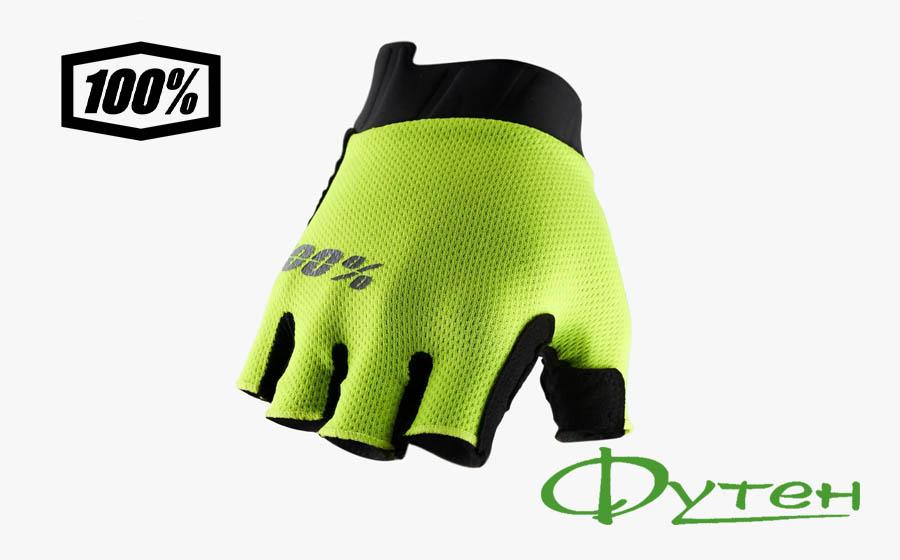 перчатки Ride 100% EXCEEDA SF Fluo Yellow