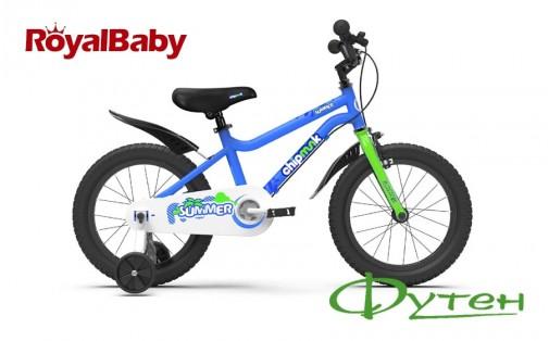 Велосипед RoyalBaby CHIPMUNK MK 18 синий