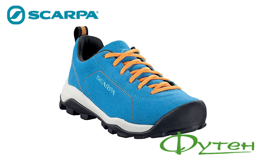 Детские Scarpa HARAKA KID VIVID blue-yellow