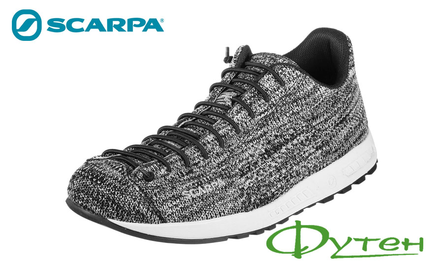 Scarpa MOJITO KNIT black-white