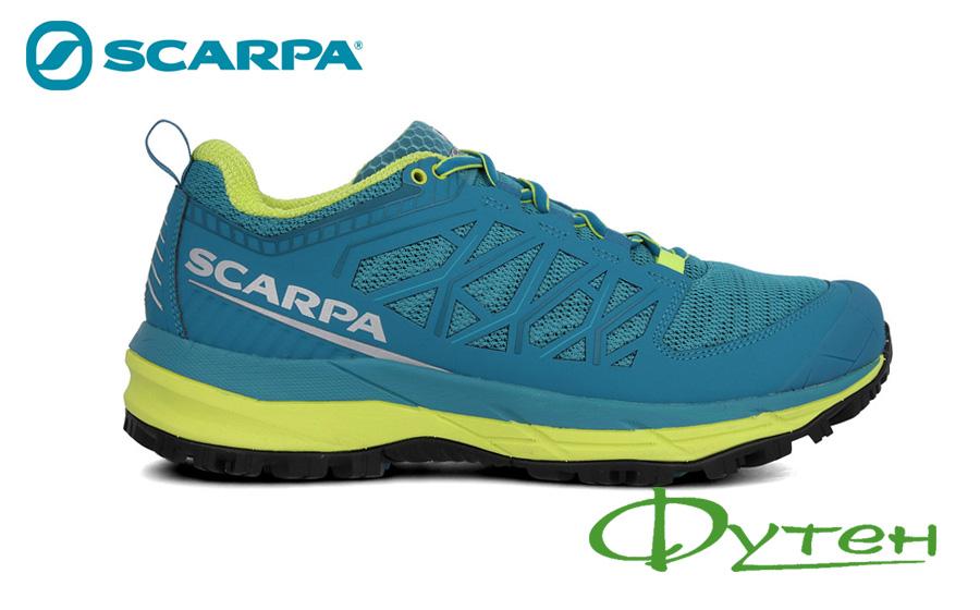 Беговые кроссовки Scarpa PROTON XT blue/spring green