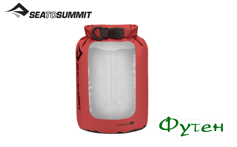 Sea to Summit VIEW DRY SACK red 4 л
