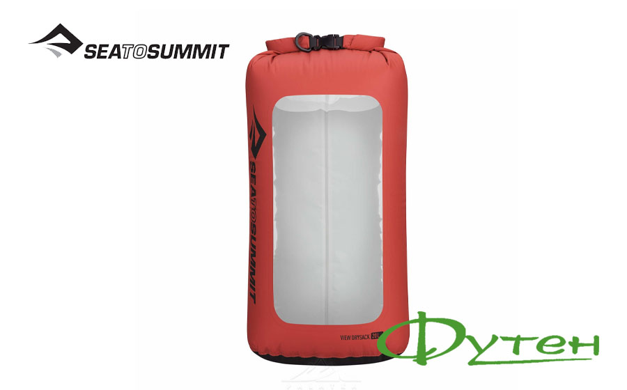 Гермомешок Sea to Summit VIEW DRY SACK red 20 л