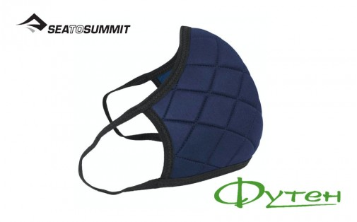 Маска Sea to Summit Barrier Face Mask ocean blue