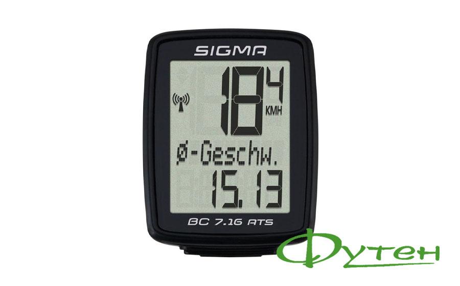 ВелокомпSigma Sport BC 7.16 ATS
