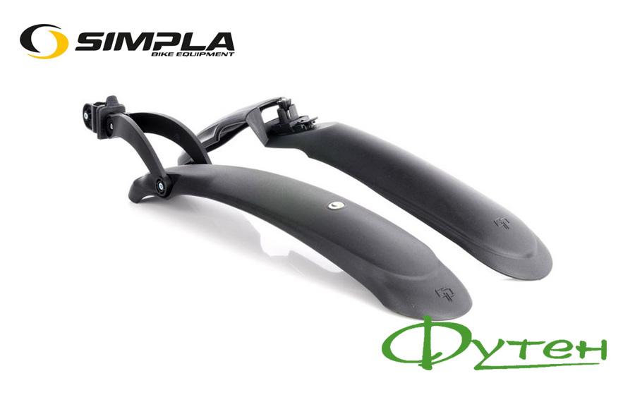 Крылья велосипедные SIMPLA GP SDE 24 -29 черные