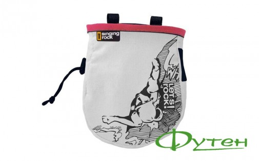 Мешочек Singing Rock CHALK BAG COMIC L red