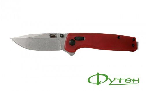 Нож SOG TERMINUS XR G10 crimson
