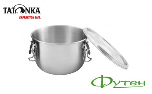 Контейнер для еды Tatonka FOODCONTAINER 1 л silver