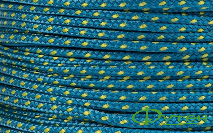 Веревка репшнур Tendon 3 мм синий