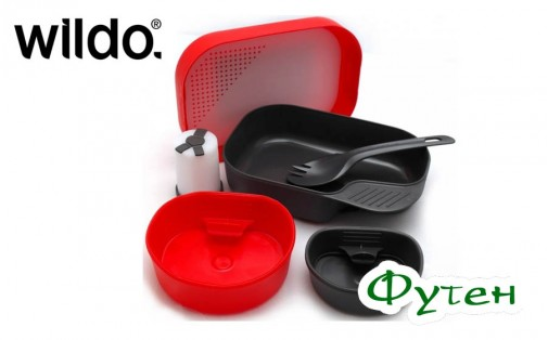 Набор Wildo CAMP-A-BOX COMPLETE red
