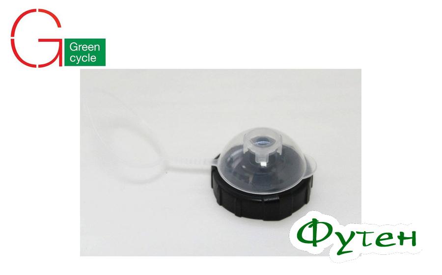 Крышка с пыльником Green Cycle белый чёрный