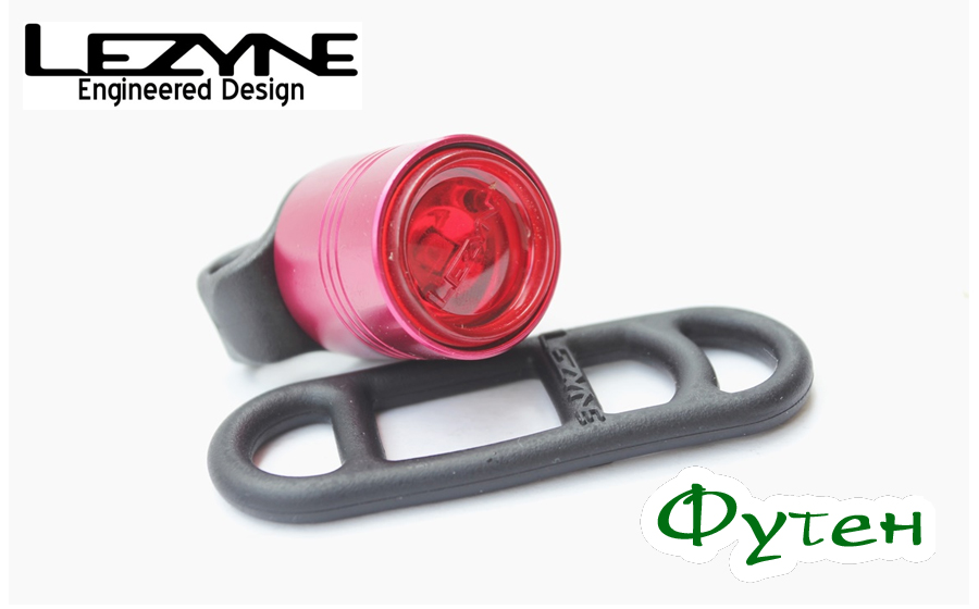 Lezyne LED FEMTO DRIVE REAR красная