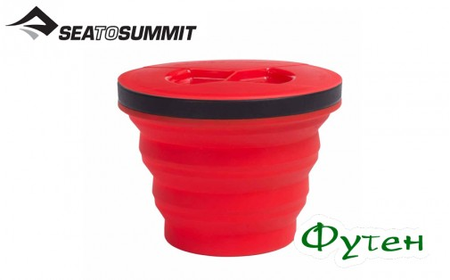 Кружка Sea to Summit X-SEAL & GO MEDIUM red