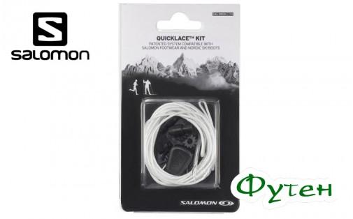 Комплект шнурков Salomon QUICKLACE KIT natural