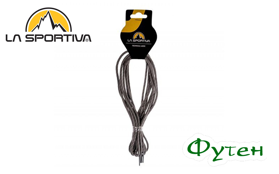 Шнурки LaSportiva APPROACH LACES white/mid grey 147cm