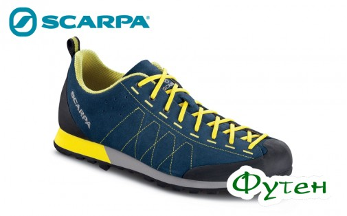 Кроссовки Scarpa HIGHBALL okean-bright yellow