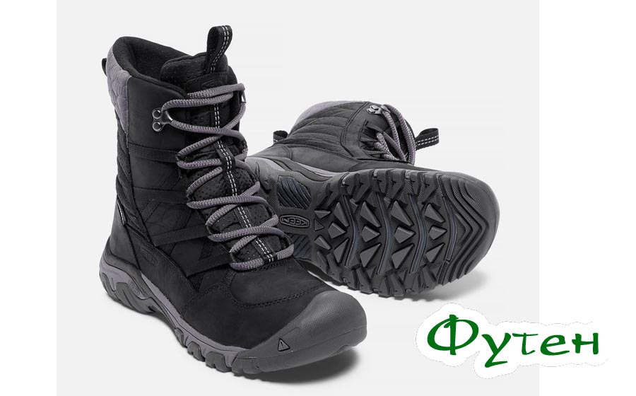 Ботинки женские Keen HOODOO III W LACE UP black/magnet