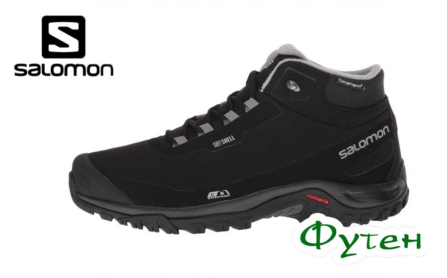 Ботинки Salomon SHELTER CS WP black/black/frost gray