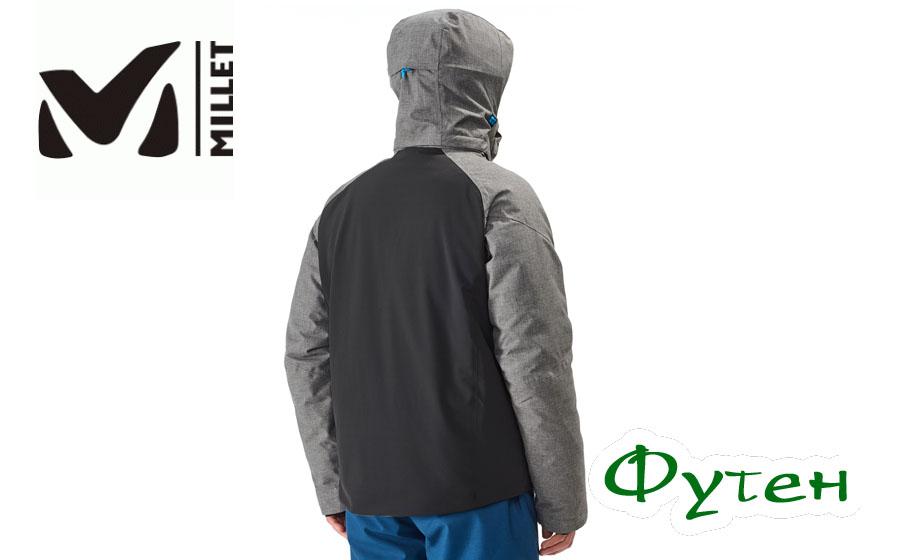 Куртка мужская Millet CYPRESS MOUNTAIN II black/heather grey