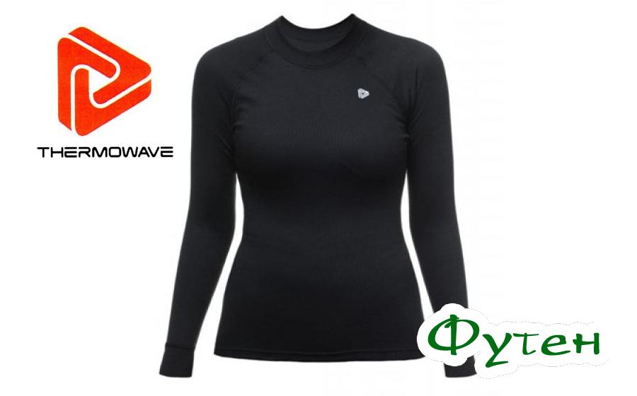 Термоблуза женская Thermowave ORIGINALS LS JERSEY W black