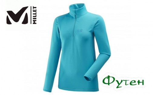 Флис женский Millet LD TECH STRETCH TOP enamel blue