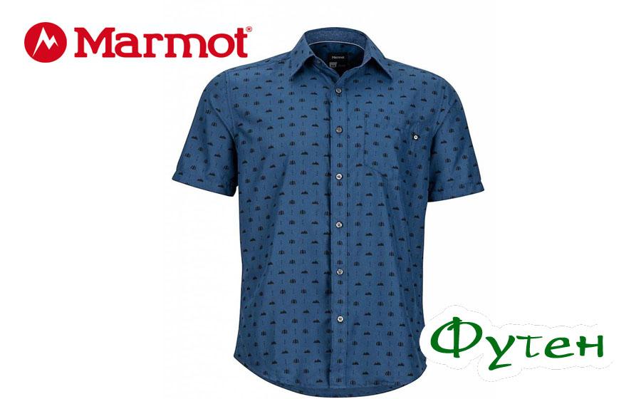 Рубашка Marmot NOTUS SS vintage navy
