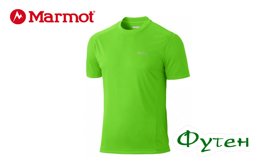 Футболка мужская Marmot WINDRIDGE SS green envy S