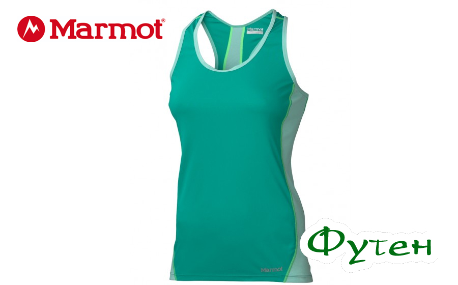 Майка женская Marmot ZEAL TANK gem green/ice green
