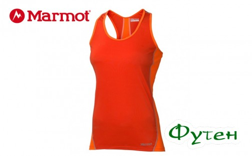 Майка женская Marmot WMS ZEAL TANK coral sunset/bright orange