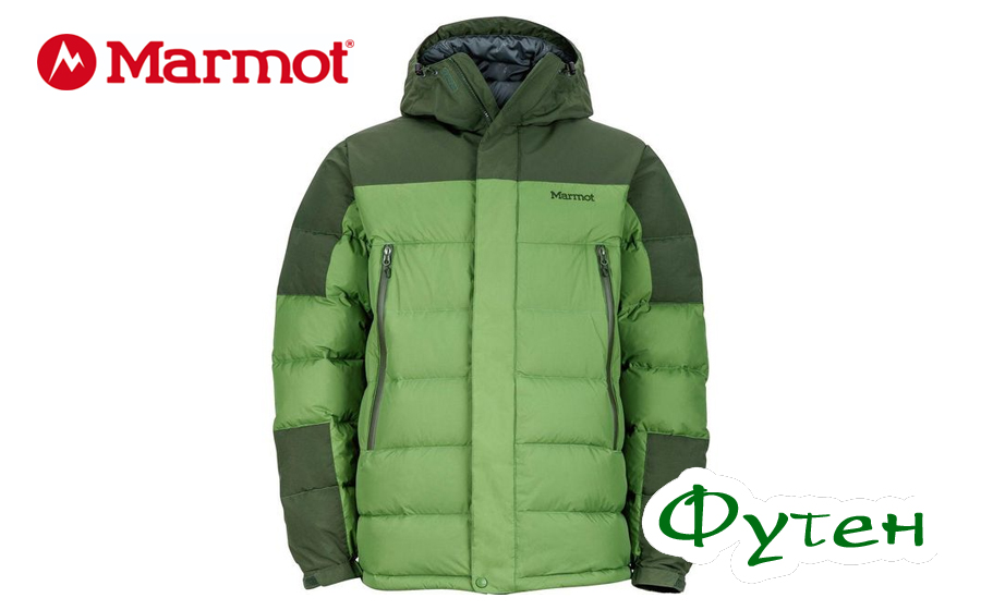 Куртка пуховая Marmot MOUNTAIN DOWN alpine green/winter pine
