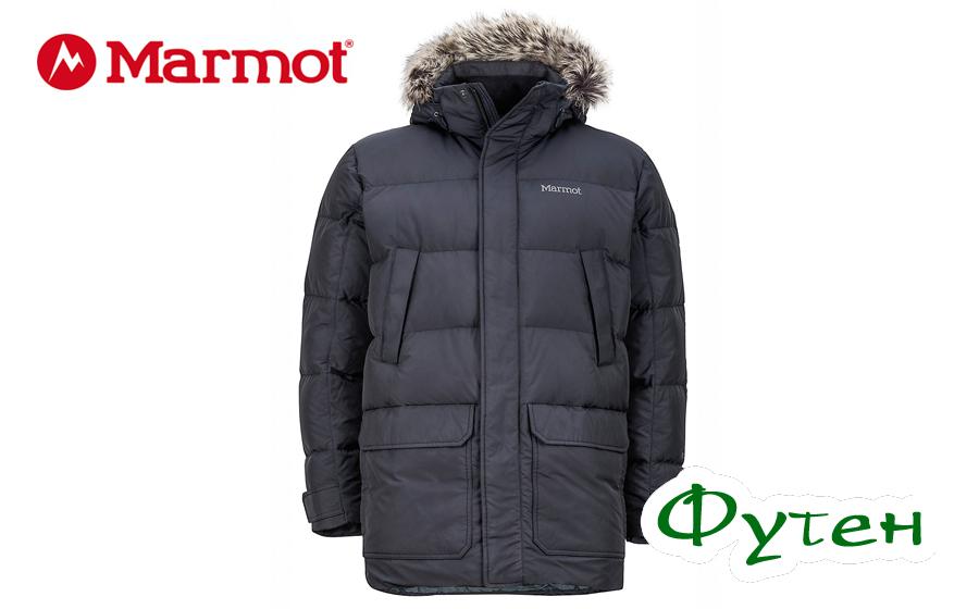 Пуховик Marmot STEINWAY black