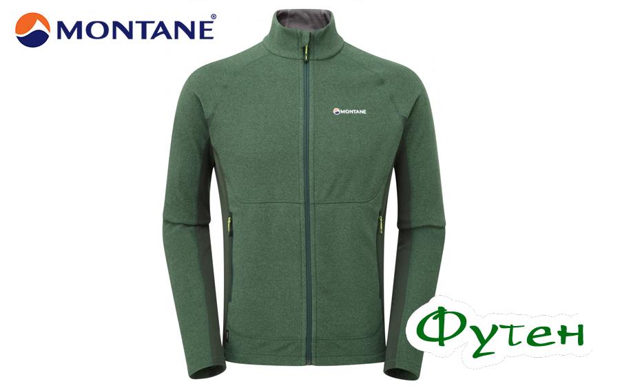 Флис Montane PULSAR arbor green